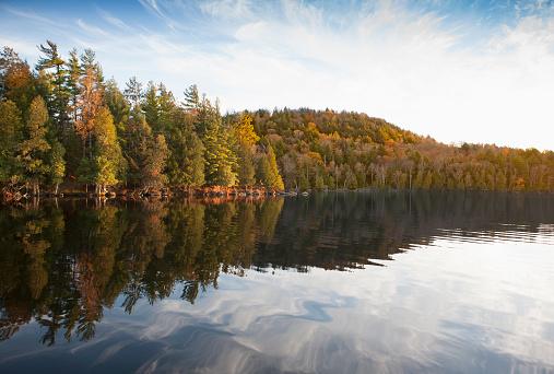 Adirondack Forest Preserve「Upper Saranac Lake, New York」:スマホ壁紙(3)