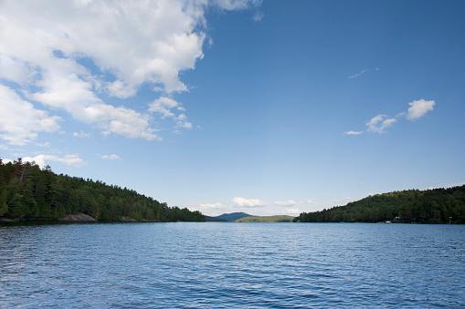 Adirondack Mountains「Upper Saranac Lake, New York State, USA」:スマホ壁紙(11)