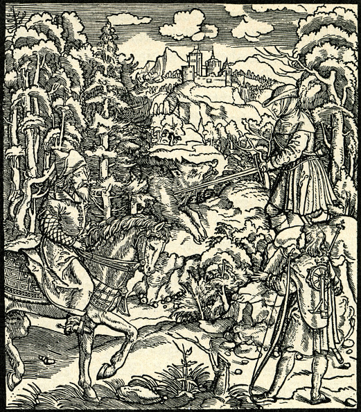 Wild Boar「Hunting a boar in the middle ages」:写真・画像(16)[壁紙.com]