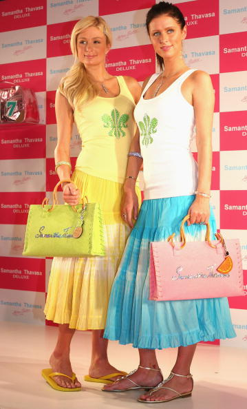 Tank Top「The Hilton Sisters Attend Store Opening In Tokyo」:写真・画像(0)[壁紙.com]