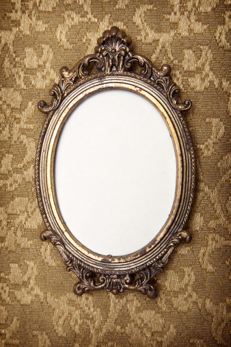 19th Century「Antique Vintage Picture Frame」:スマホ壁紙(1)