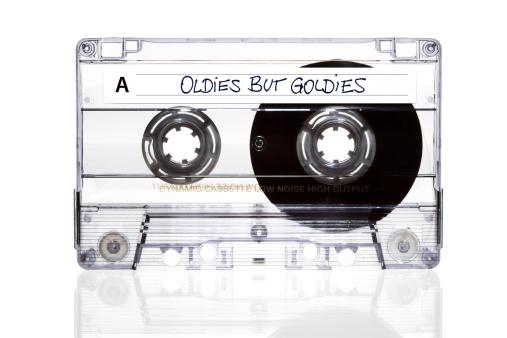1980-1989「Audio Cassette. Oldies but Goldies」:スマホ壁紙(9)