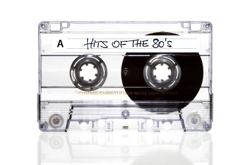 Rock Music「Audio Cassette. Hits of the 80s」:スマホ壁紙(18)