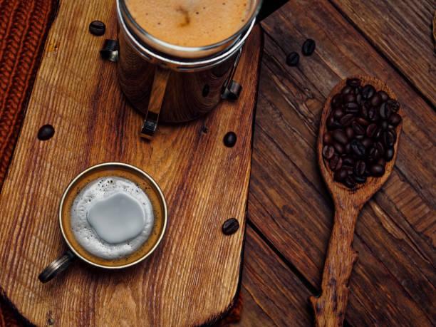 Coffee in winter:スマホ壁紙(壁紙.com)