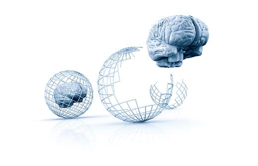 Sphere「Brain breaking out of cage」:スマホ壁紙(13)