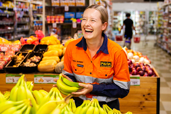 Laughing「Rural Communities Struggle To Stock Up On Supplies Due To Coronavirus Restrictions」:写真・画像(9)[壁紙.com]