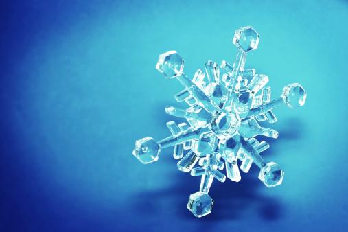 雪の結晶「クリスタルの結晶」:スマホ壁紙(16)