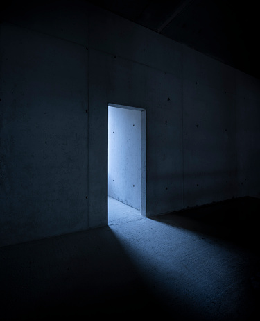 Mystery「Doorway in an unfinished building」:スマホ壁紙(6)