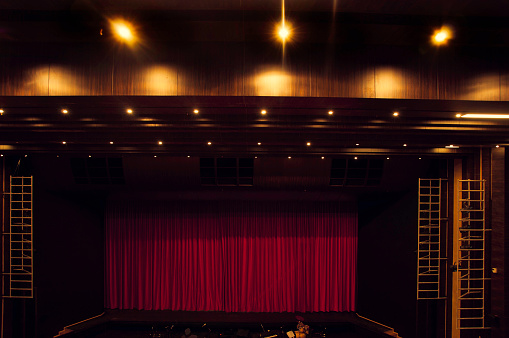 Curtain「theatre stage」:スマホ壁紙(14)