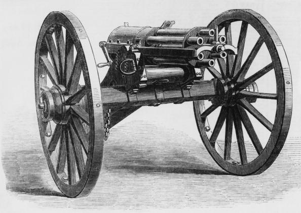 Single Object「Gatling Gun」:写真・画像(6)[壁紙.com]