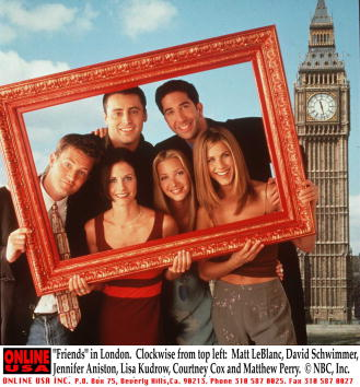 Television Show「Friends in London」:写真・画像(4)[壁紙.com]