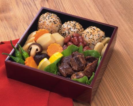 シイタケ「Lunch Box, High Angle View」:スマホ壁紙(6)