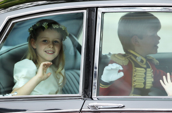 Margarita Armstrong-Jones「Royal Wedding - Wedding Guests And Party Make Their Way To Westminster Abbey」:写真・画像(12)[壁紙.com]