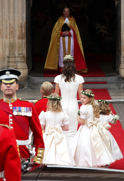 Margarita Armstrong-Jones「Royal Wedding - Wedding Guests And Party Make Their Way To Westminster Abbey」:写真・画像(16)[壁紙.com]