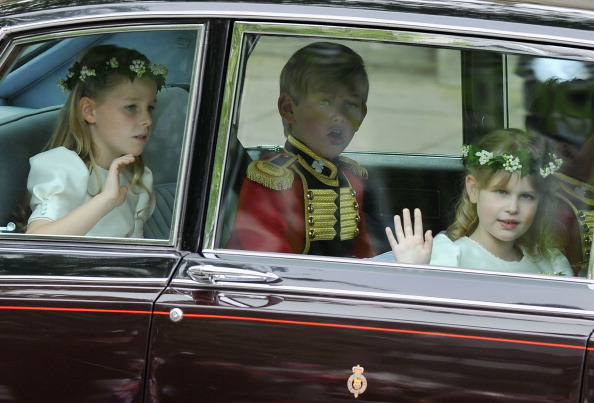 Margarita Armstrong-Jones「Royal Wedding - Wedding Guests And Party Make Their Way To Westminster Abbey」:写真・画像(14)[壁紙.com]