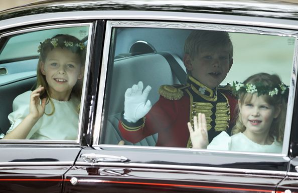 Margarita Armstrong-Jones「Royal Wedding - Wedding Guests And Party Make Their Way To Westminster Abbey」:写真・画像(17)[壁紙.com]