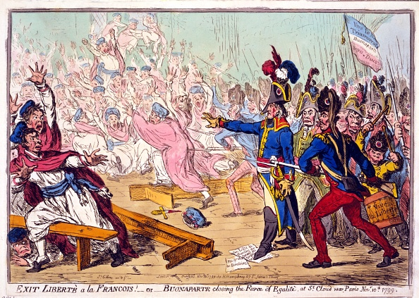 閉める「Exit Libertè A La Francois! Or Buonaparte Closing The Farce Of Egalité」:写真・画像(18)[壁紙.com]