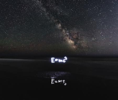 星空「特殊相対性理論」:スマホ壁紙(7)