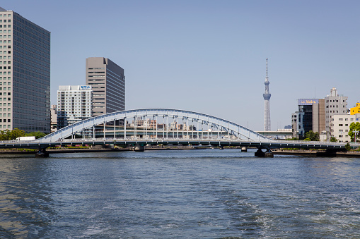 Japan「Eidai Bridge Across the Sumida River, Tokyo.」:スマホ壁紙(2)