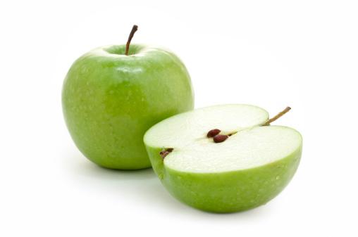 リンゴ「グリーンアップル」:スマホ壁紙(9)