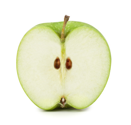 Cross Section「Green Apple cross section. Clipping Path included」:スマホ壁紙(16)