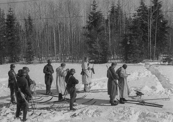 Ski Pole「German Soldiers Russia 1941」:写真・画像(8)[壁紙.com]