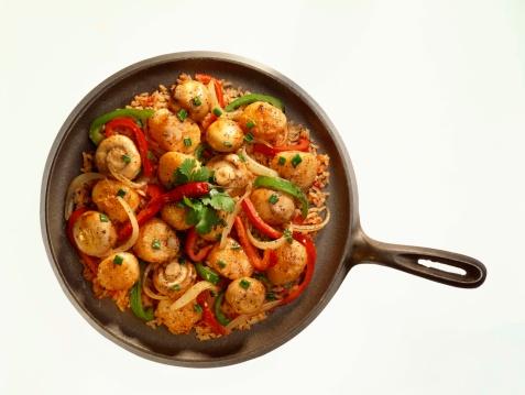 Paella「Scallop and mushroom fajitas」:スマホ壁紙(12)