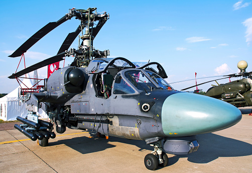 Russian Military「A Ka-52K of the Russian Navy.」:スマホ壁紙(5)