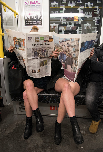 Offbeat「No Pants Day Berlin」:写真・画像(18)[壁紙.com]