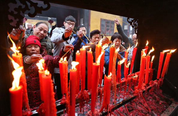 VCG「To Pray For Good Luck And Fortune For The New Year」:写真・画像(12)[壁紙.com]