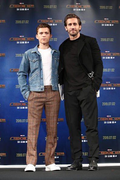 Hair Stubble「'Spider-Man: Far From Home' South Korea Premiere - Press Conference」:写真・画像(17)[壁紙.com]