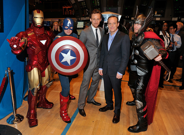 "Movie「Marvel Studios Celebrates Release Of ""Marvel's The Avengers"" At The New York Stock Exchange」:写真・画像(14)[壁紙.com]"