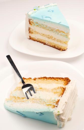 フォーク「ブルーのバースデーケーキ」:スマホ壁紙(4)