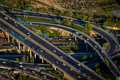 Iranian Culture「Highway from Milad Tower」:スマホ壁紙(15)