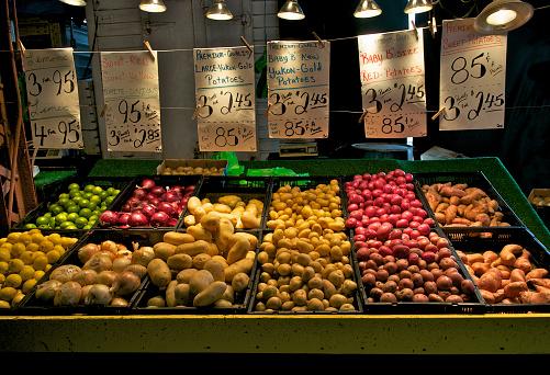 Market Stall「Produce at farmer's market」:スマホ壁紙(9)