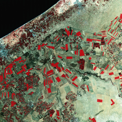 Gaza Strip「Satellite View of Gaza Strip」:スマホ壁紙(17)