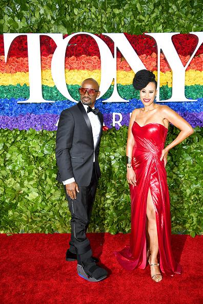 Metallic Dress「73rd Annual Tony Awards - Red Carpet」:写真・画像(4)[壁紙.com]
