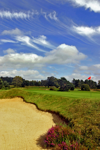 Sand Trap「Golf landscape」:スマホ壁紙(17)