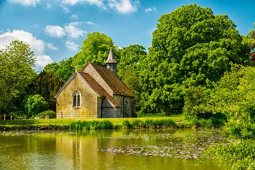 English Culture「St Leonards Church Hartley Mauditt Hampshire England」:スマホ壁紙(4)