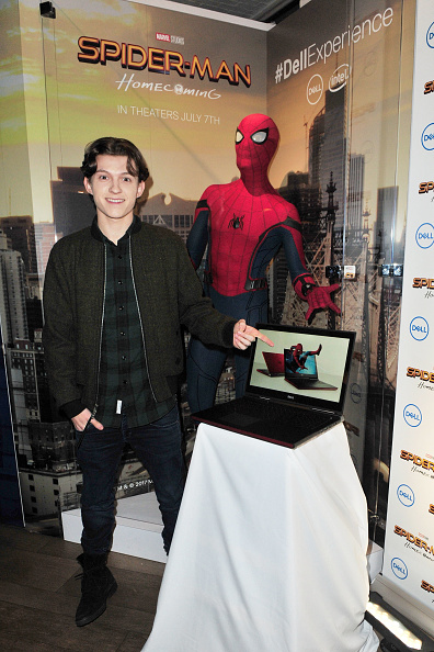 Tradeshow「Tom Holland joins #DellExperience at CES 2017」:写真・画像(2)[壁紙.com]