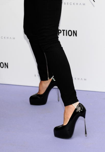 High Heels「Victoria Beckham Presents Jeans Collection In Madrid」:写真・画像(8)[壁紙.com]