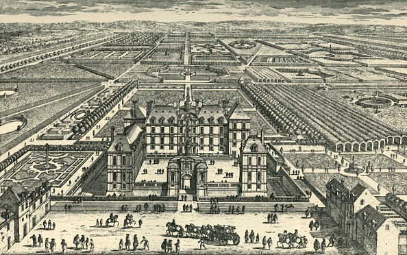 Flowerbed「The Château De La Rochefoucauld」:写真・画像(12)[壁紙.com]