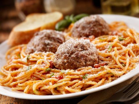 Side Dish「Spaghetti with Large Meatballs」:スマホ壁紙(7)