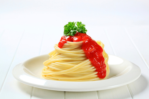 Tomato Sauce「Spaghetti with sauce and herbs」:スマホ壁紙(17)
