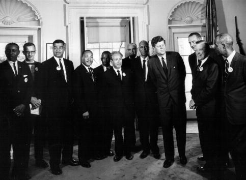 Human Rights「President Kennedy Meets with Civil Rights Leaders」:写真・画像(10)[壁紙.com]