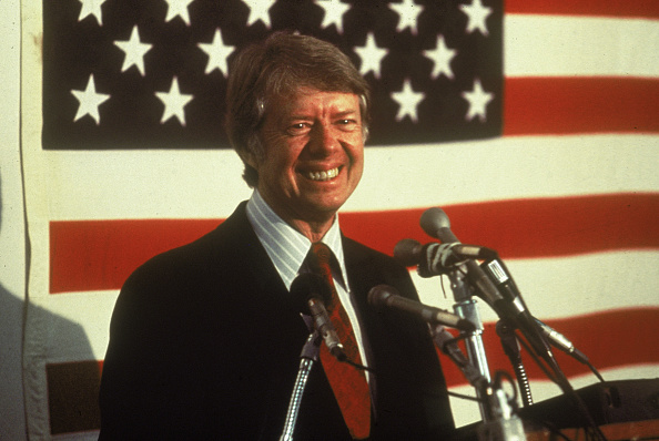 President「Jimmy Carter In Front Of U.S. Flag」:写真・画像(18)[壁紙.com]