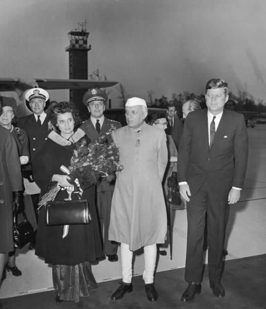 JFK Meets Nehru:ニュース(壁紙.com)