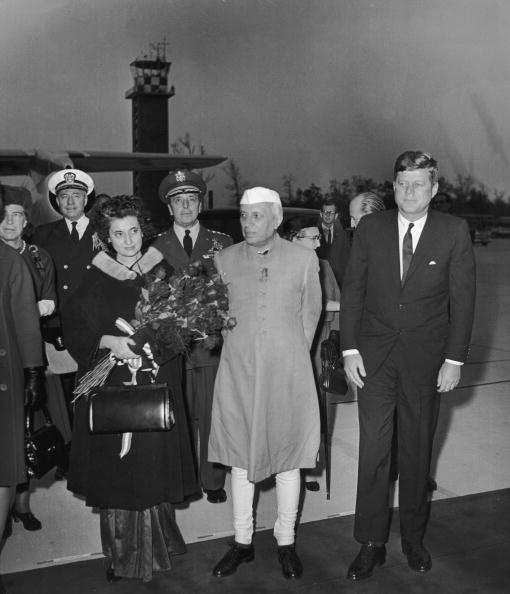 Consolidated News Pictures「JFK Meets Nehru」:写真・画像(17)[壁紙.com]