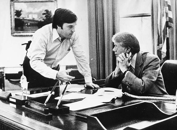 US President「Jimmy Carter And Hamilton Jordan」:写真・画像(16)[壁紙.com]