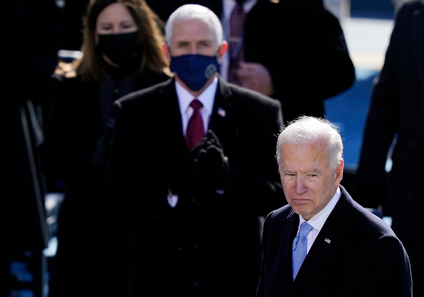 Speech「Joe Biden Sworn In As 46th President Of The United States At U.S. Capitol Inauguration Ceremony」:写真・画像(12)[壁紙.com]